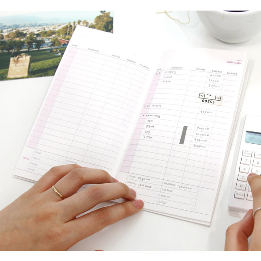 Daily plan - Achievement handy cash planner