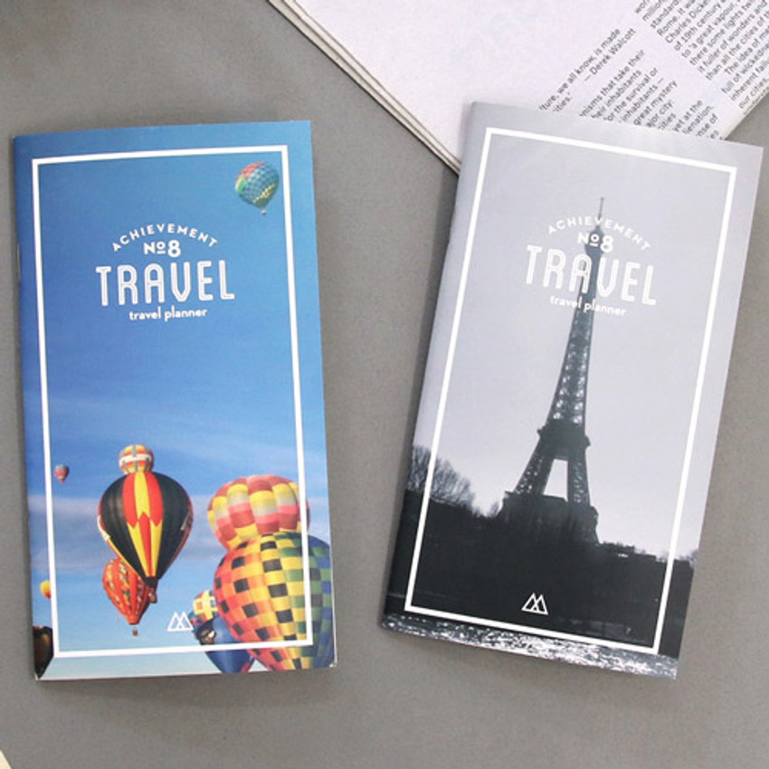 Achievement handy travel planner
