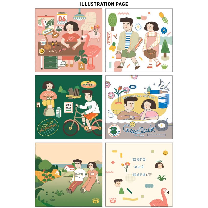 illustration page