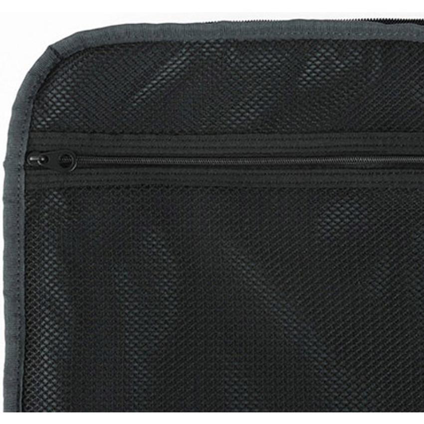 Inner mesh zipper pocket