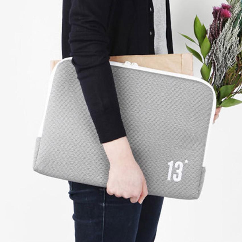 Table talk 13 inches laptop air mesh pouch