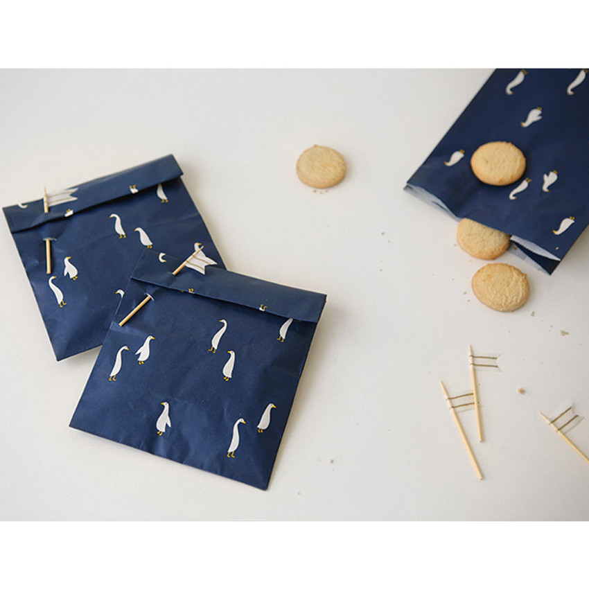 Goose - Animal pattern gift paper bag set