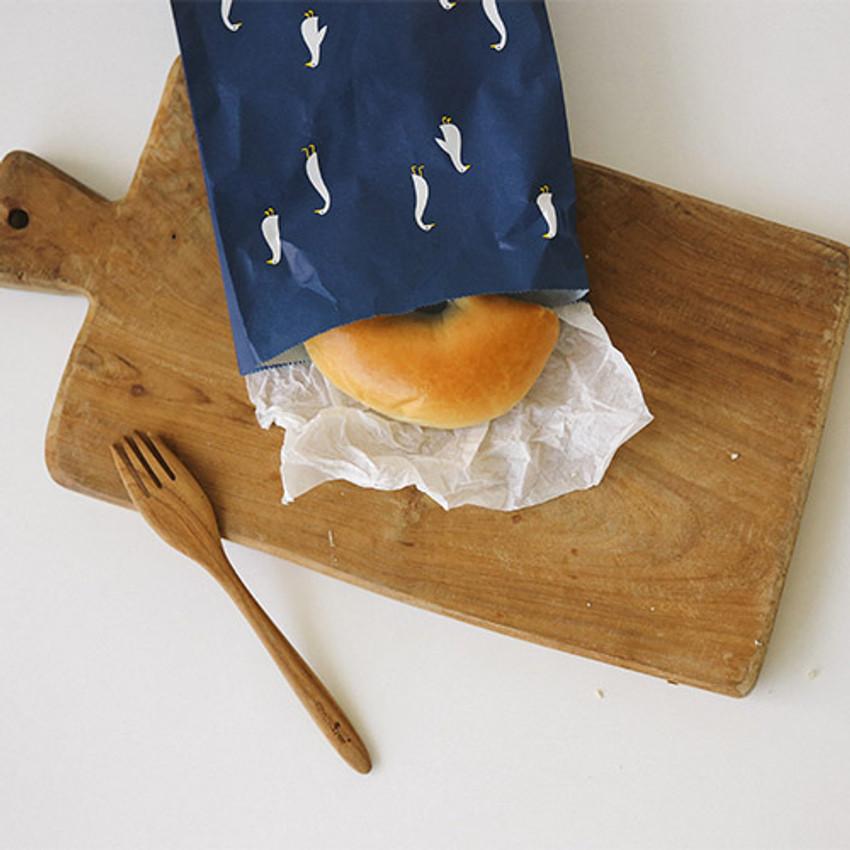 Animal pattern gift paper bag set