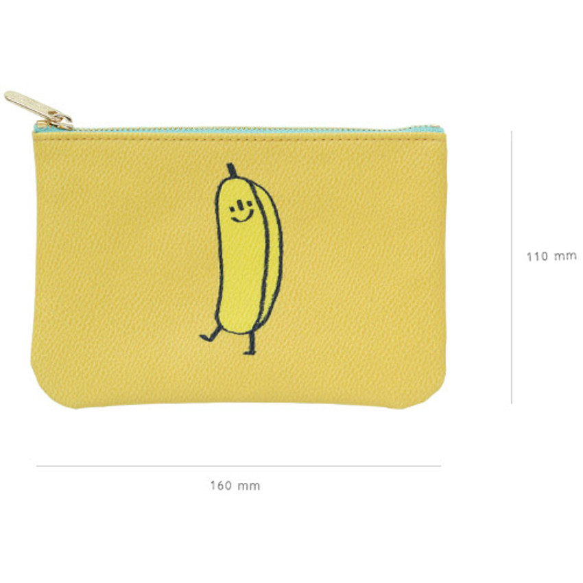 Size of Jam Jam handy zipper pouch