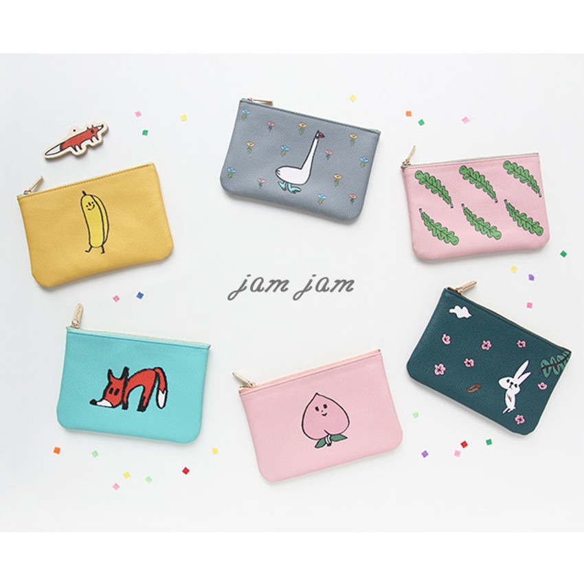 Jam Jam handy zipper pouch