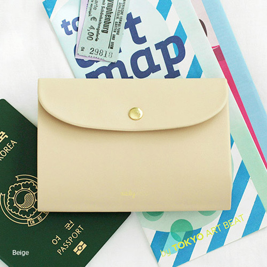 Beige - 2NUL Daily nice passport cover