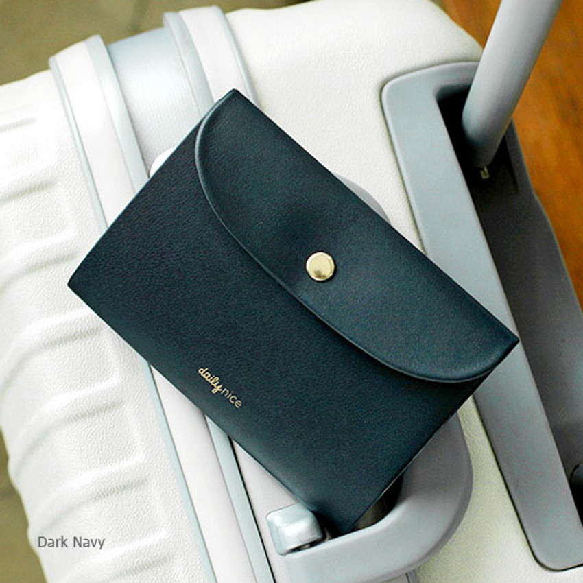 Dark navy - 2NUL Daily nice passport cover