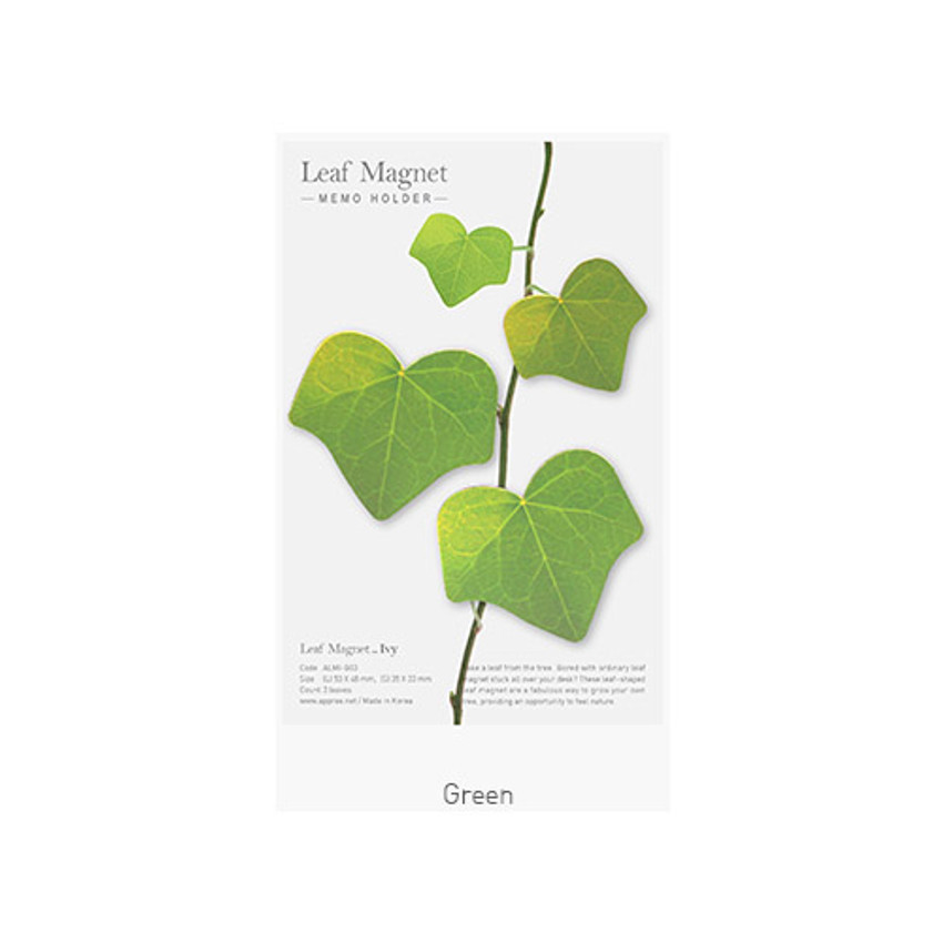 Green - Appree Ivy magnet set