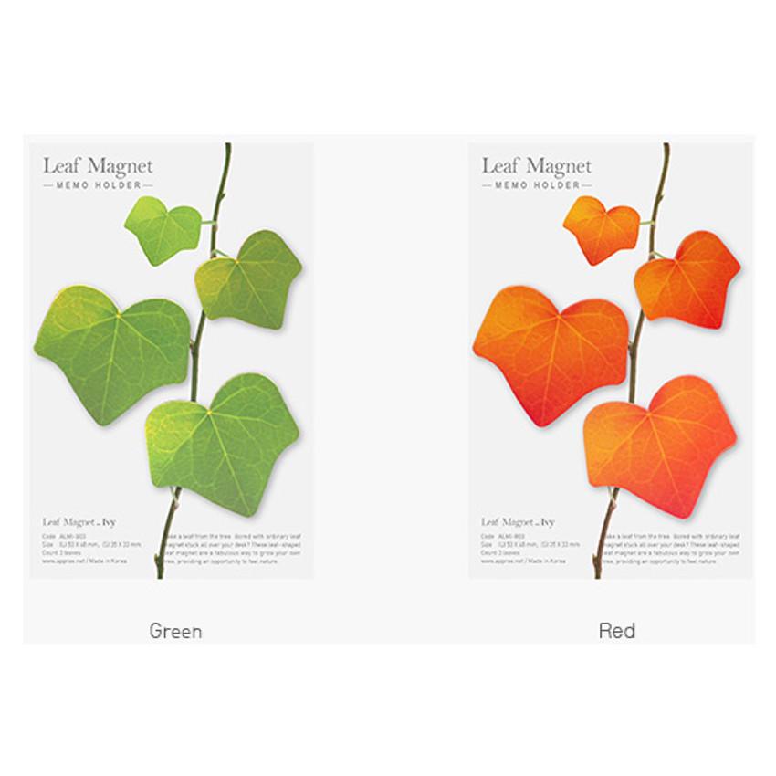 Color of Appree Ivy magnet set