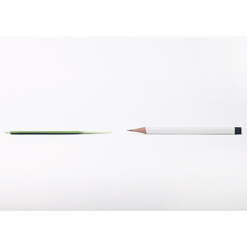 Thickness - Appree Banana leaf bookmark black ballpoint pen