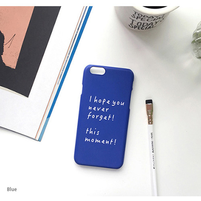 Blue - This moment polycarbonate case for iPhone 6