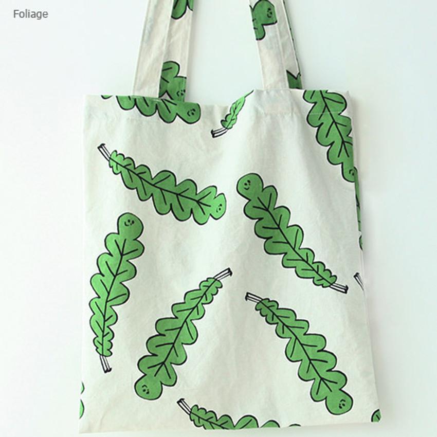 Foliage - Livework Jam Jam pattern daily shoulder tote bag