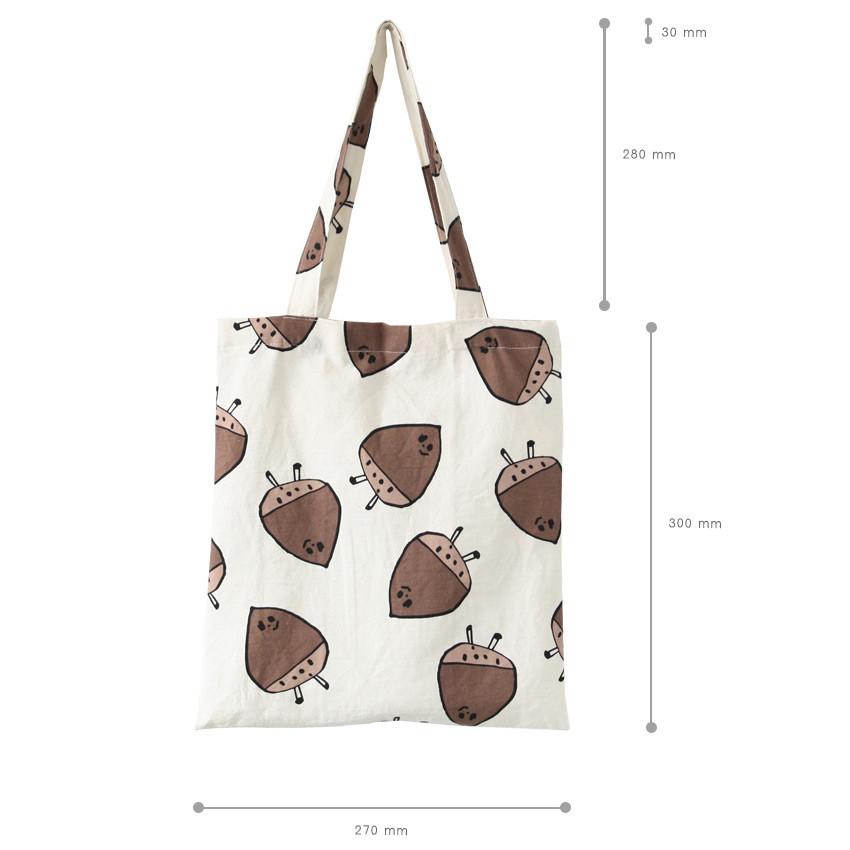 Size of Livework Jam Jam pattern daily shoulder tote bag