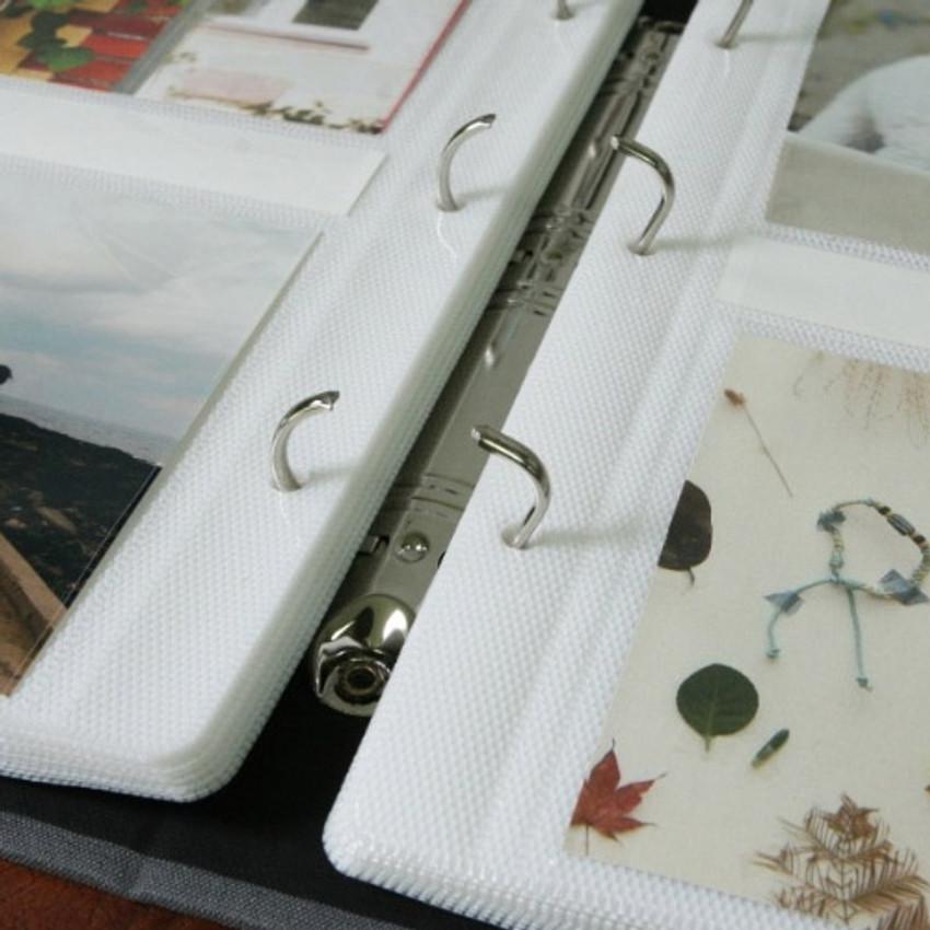 Three-ring binder