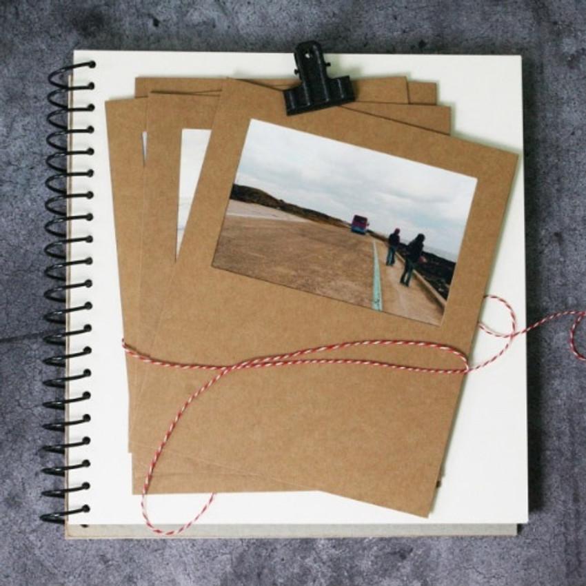 4X6 photo kraft storyboard