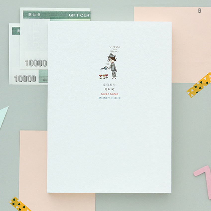 B - Todac Todac cash book planner