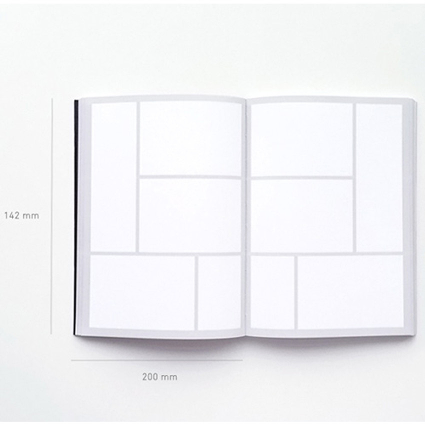 Size of Seeso Editor diary notebook