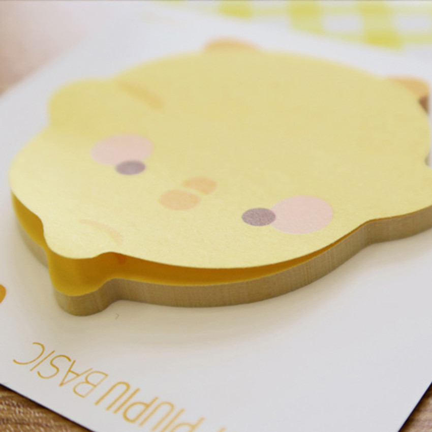 Curious - Bookcodi Molang piupiu cute sticky memo note