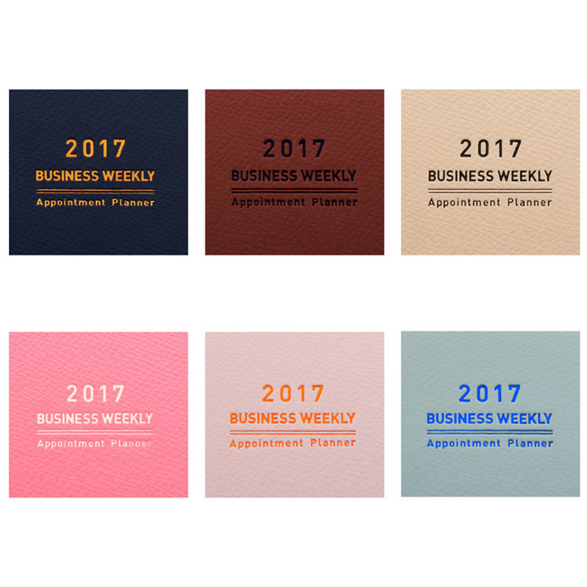 2017 Monopoly Appointment A6 dated daily planner scheduler