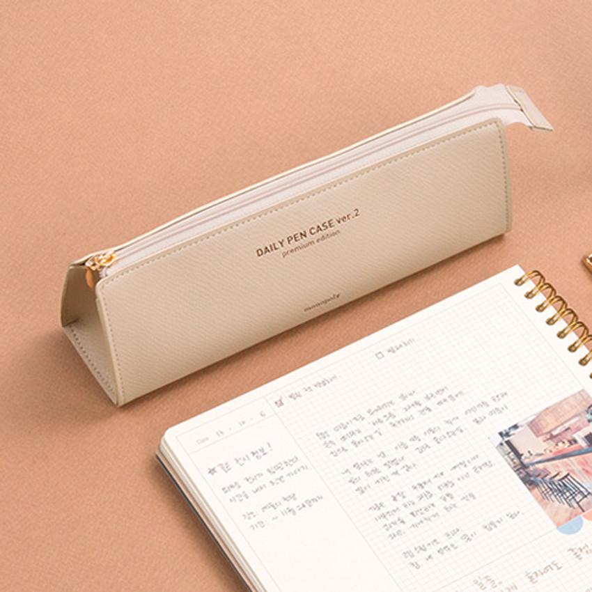 Monopoly Daily triangle zipper pencil case ver.2
