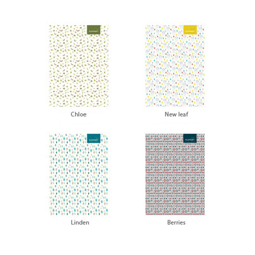 Option  of Plannary Breezy windy lined notebook