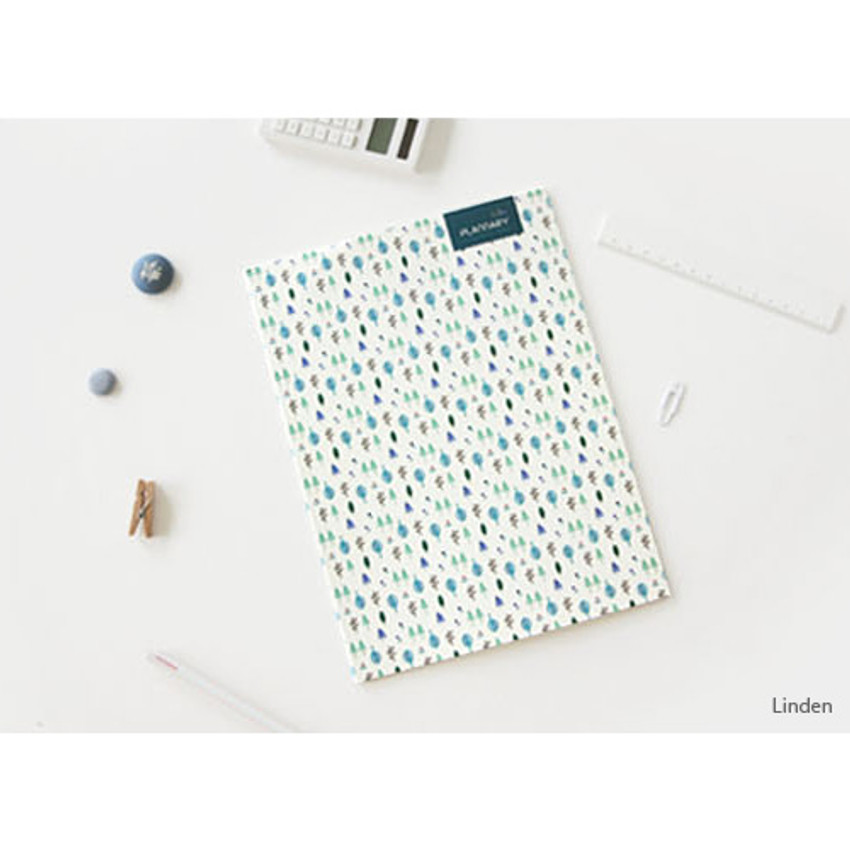 Linden - Plannary Breezy windy lined notebook