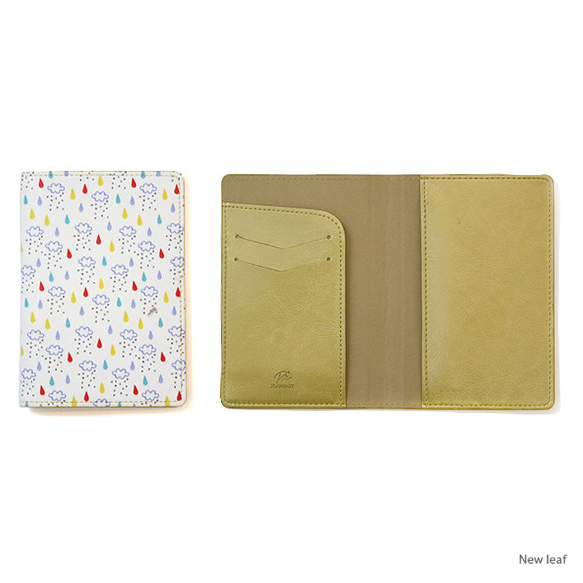 Nwe leaf - Plannary Darou and jamar passport case