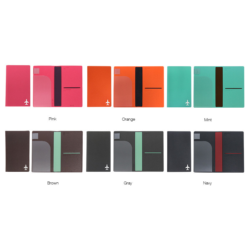 Color of Fenice Simple RFID blocking medium passport cover