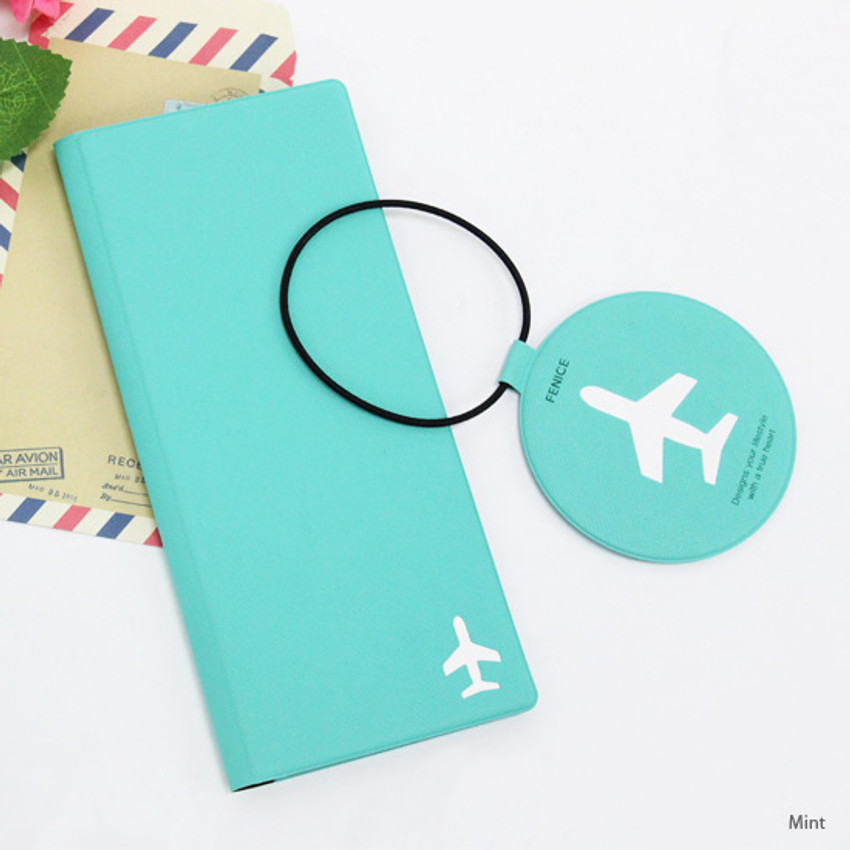 Mint - Fenice Simple RFID blocking large passport cover
