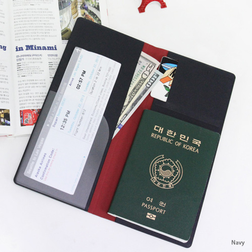 Fenice Simple RFID blocking large passport cover
