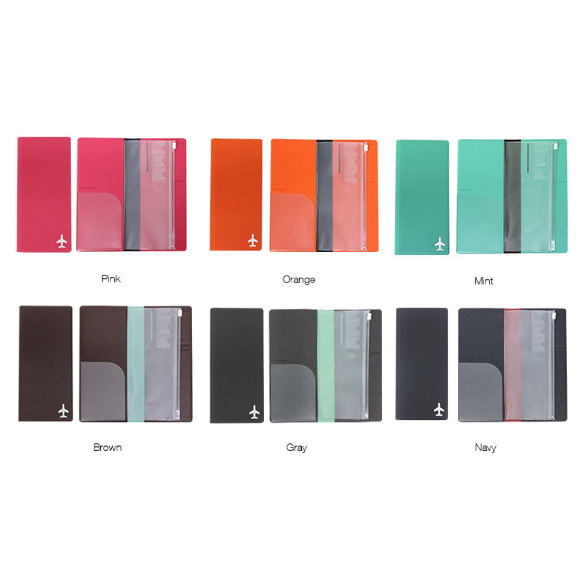 Color of Fenice Simple RFID blocking large passport cover