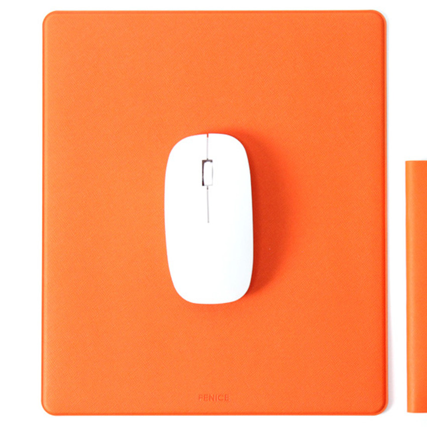 Orange - Fenice Office premium mouse pad