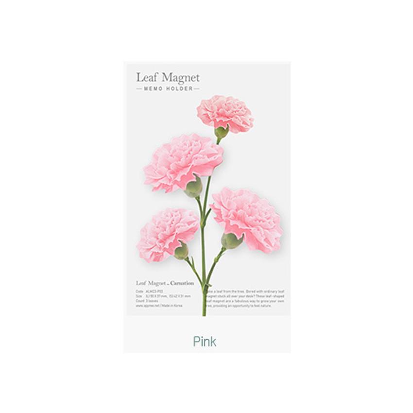 Pink - Appree Carnation magnet set