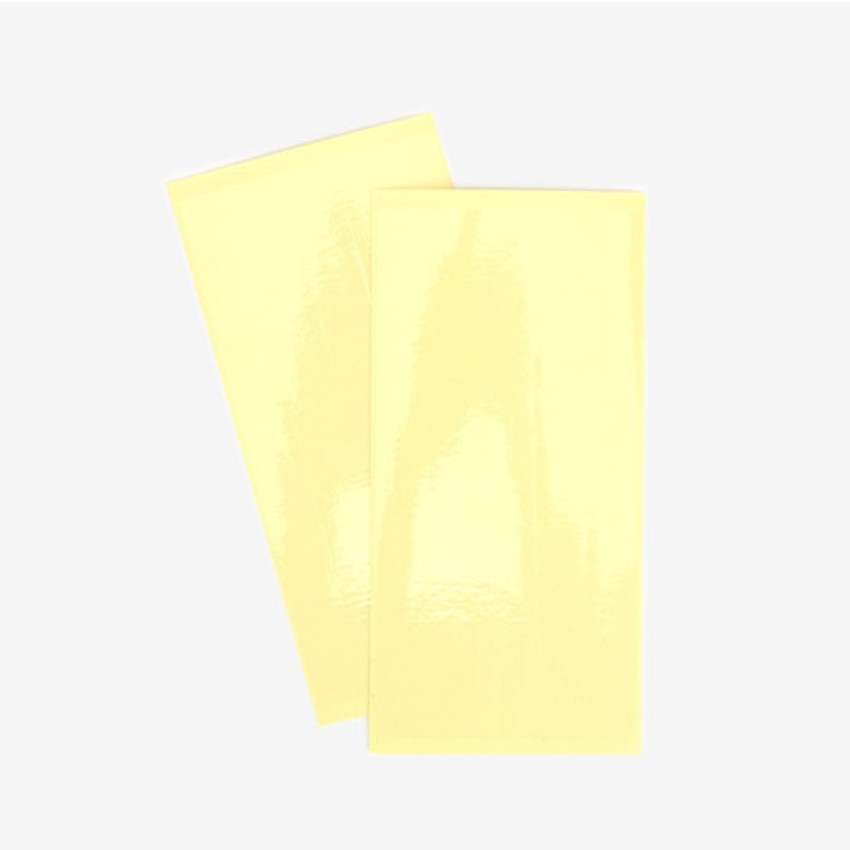 2 Clear tape sheets