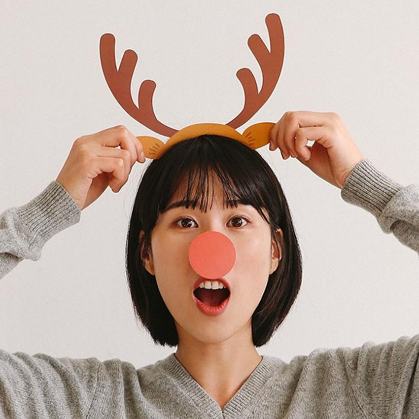 Dailylike Christmas photo stick props set