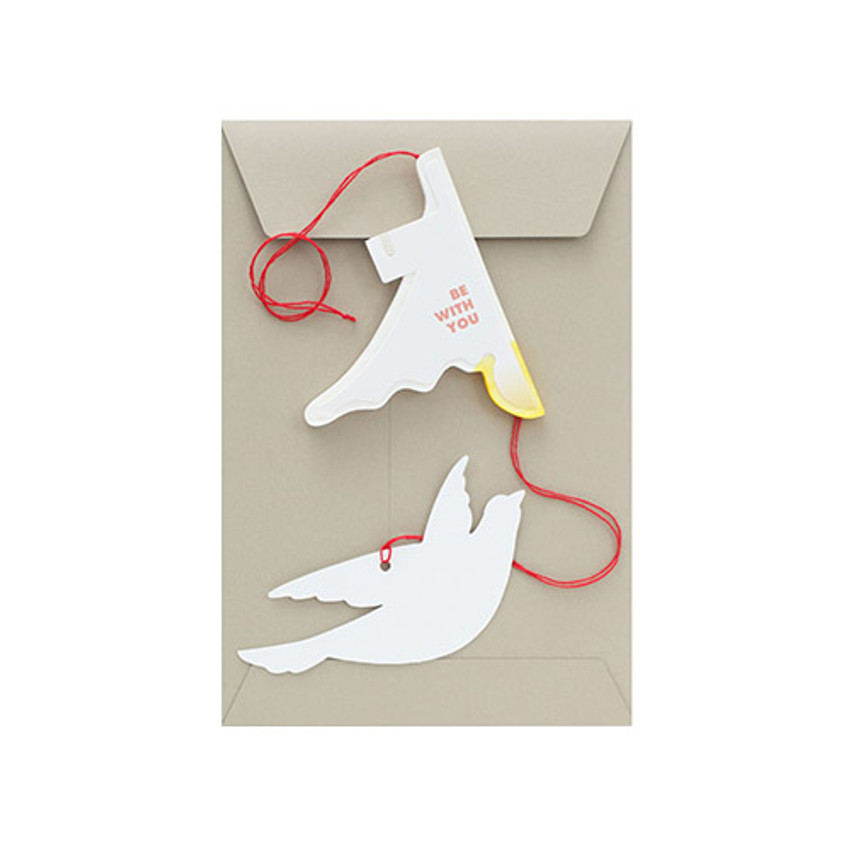 Livework Paper mobile card with envelope set - Fly away