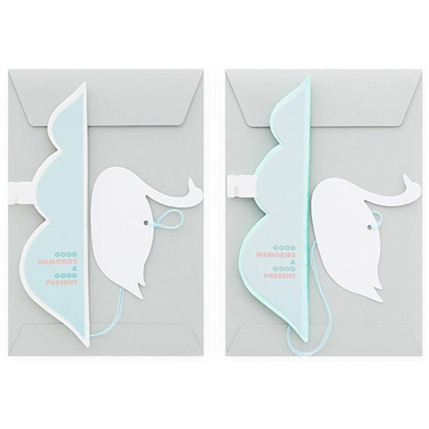 Livework Paper mobile card with envelope set - Swan river