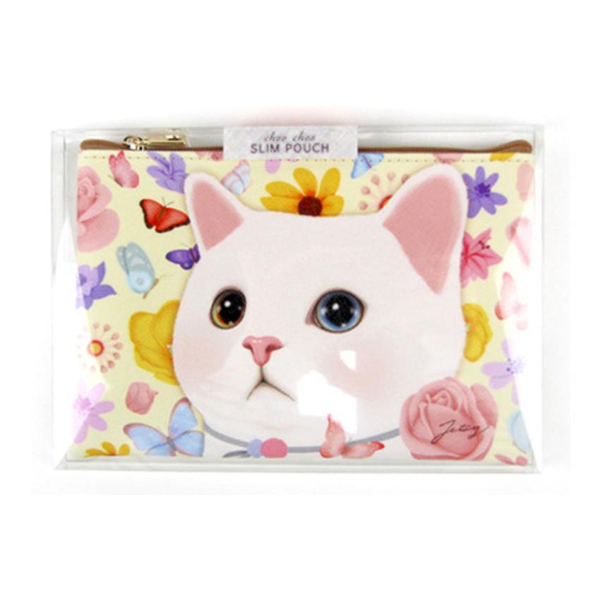Package for Choo Choo cat slim zipper pouch