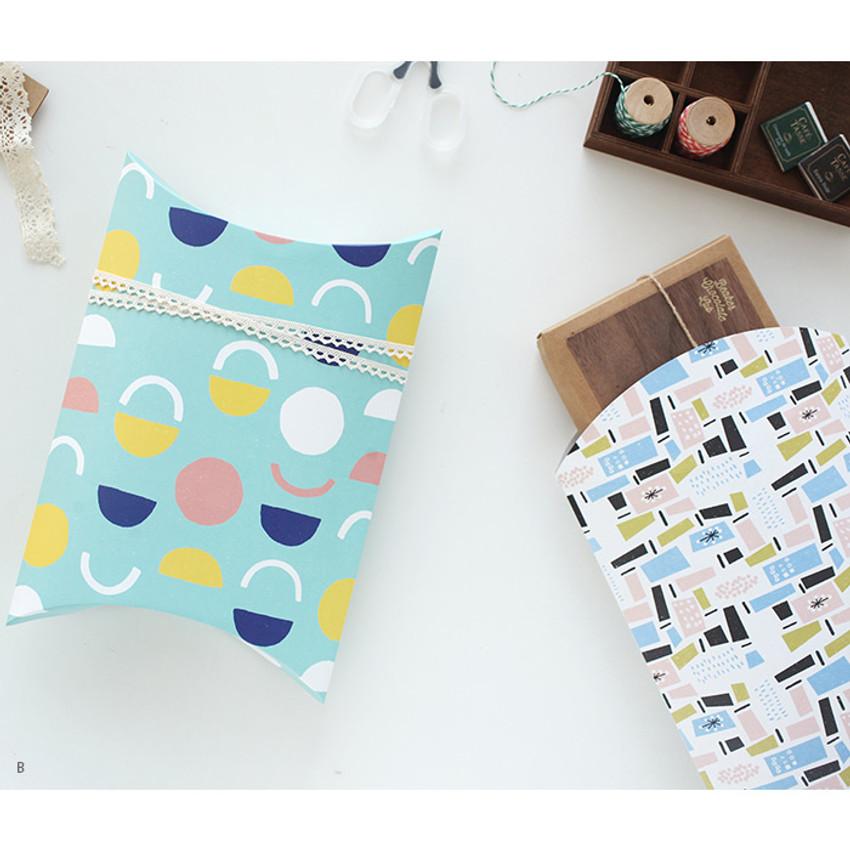 Livework Promenade gift paper bag large set of 3 styles