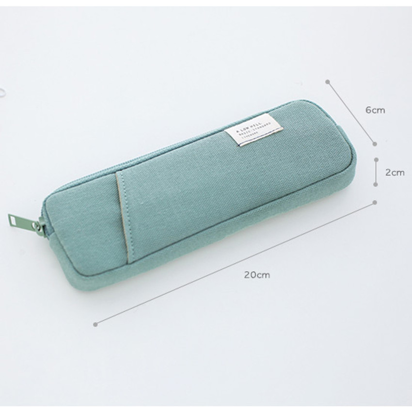 Size of A low hill basic standard pocket pencil case ver.3