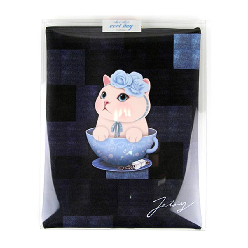 Package for Choo Choo cat cori zipper tote bag