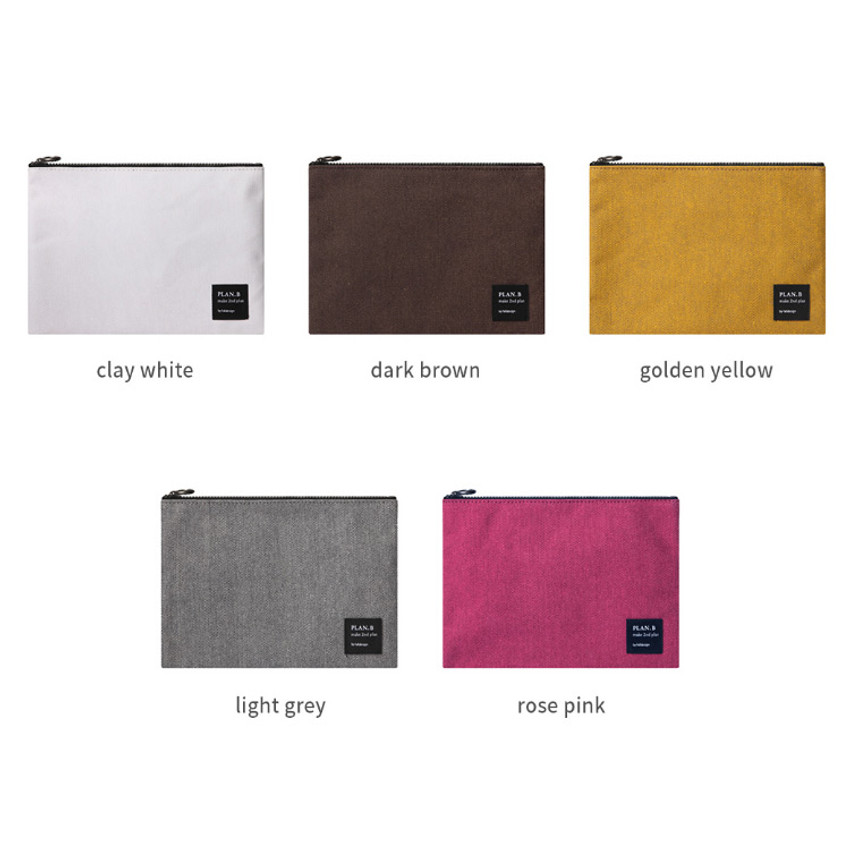 Color of Make your second plan medium slim pocket pouch