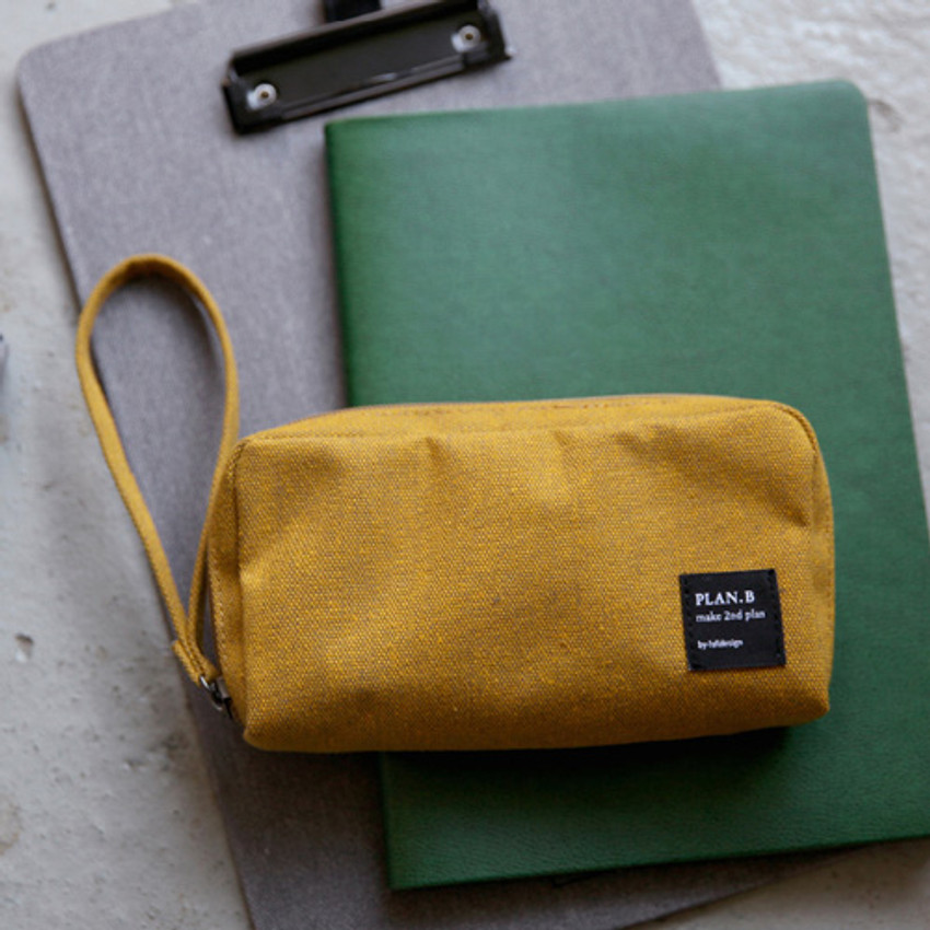 Golden yellow - Make your second plan bankbook pouch