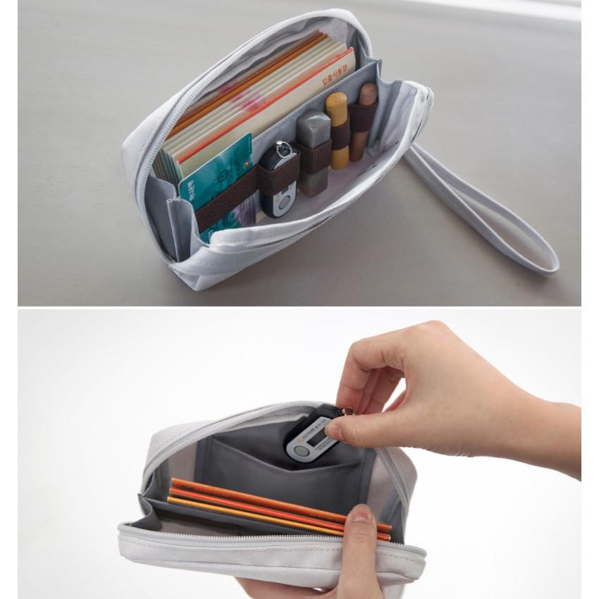 Byfulldesign Make your second plan bankbook pocket pouch
