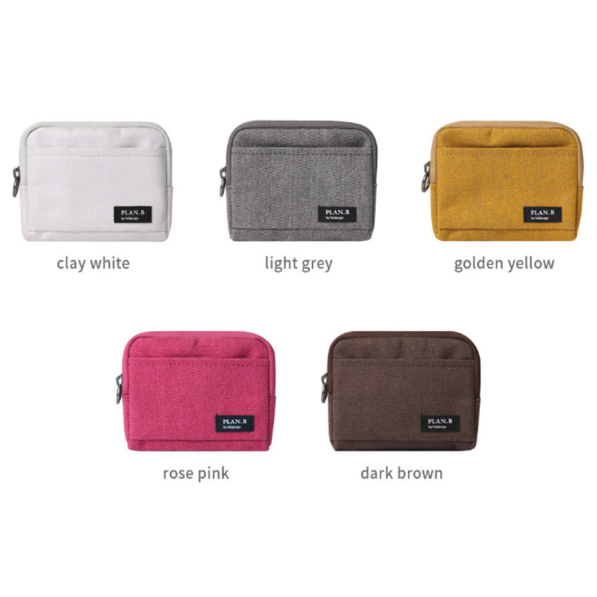 Color of Make your second plan multi small pocket pouch