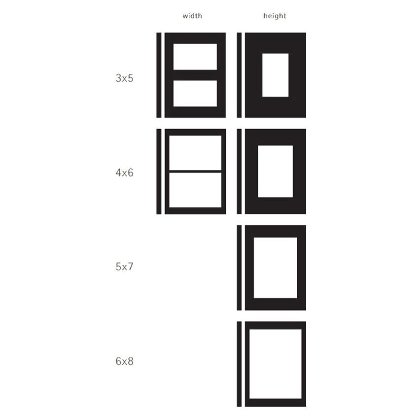 Livre de self adhesive black photo album