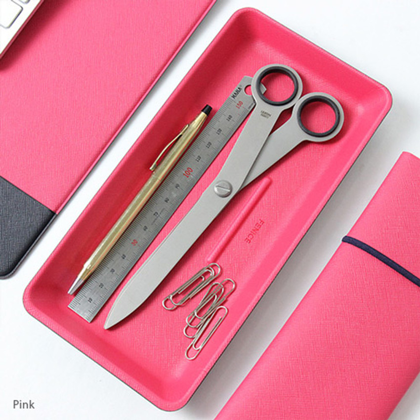 Pink - Fenice Premium simple basic tray