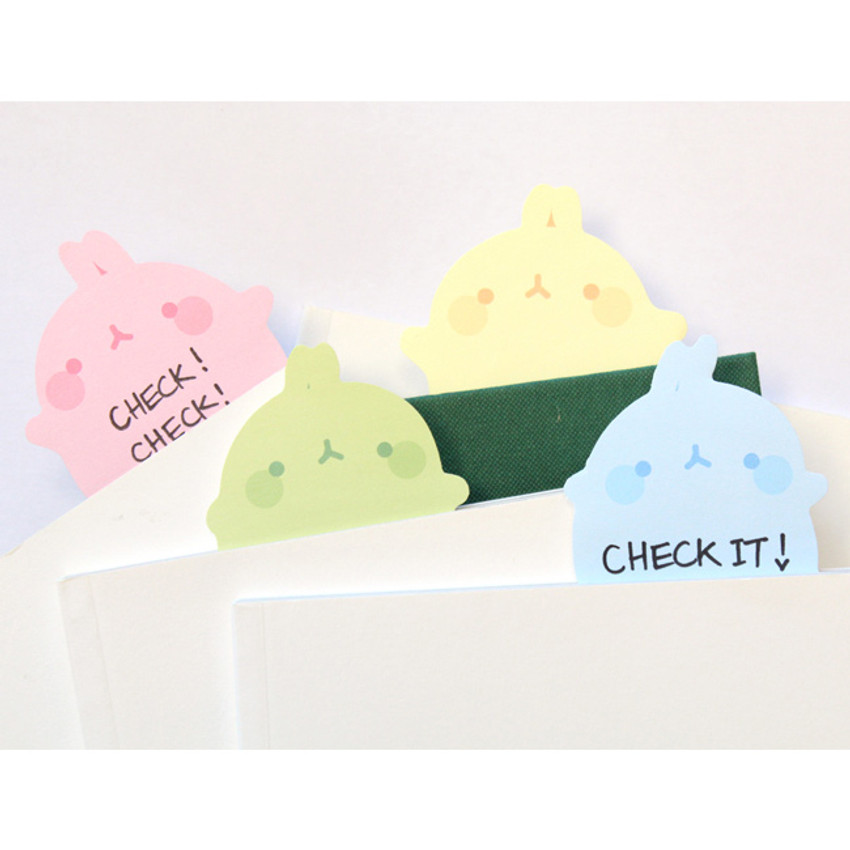 Molang basic cute sticky memo note ver.2