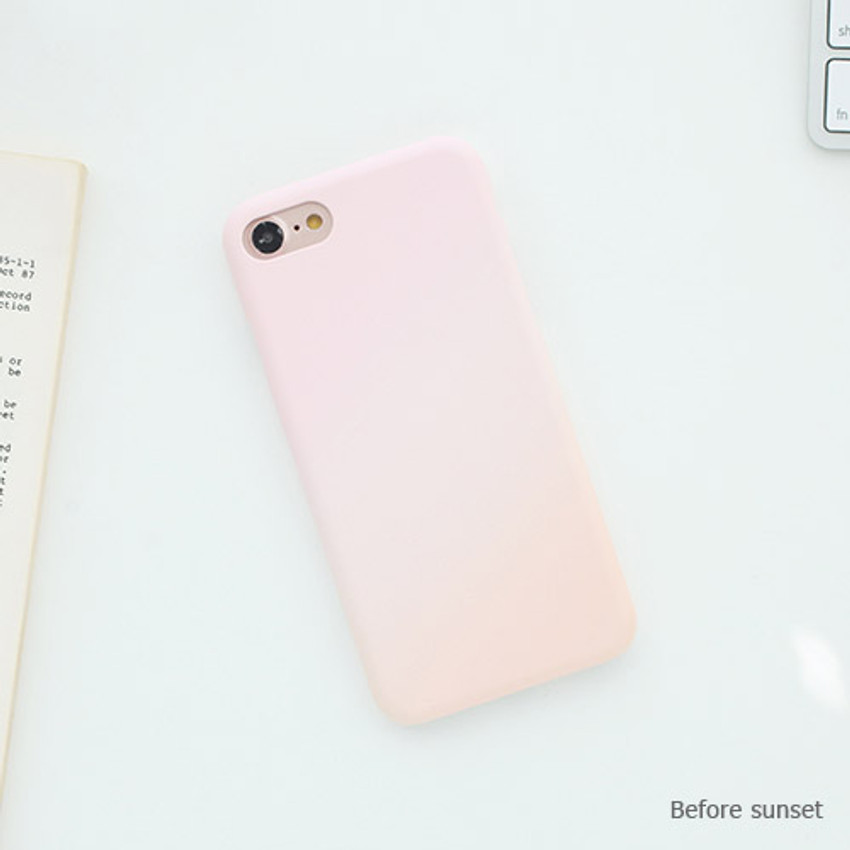 Before sunset - Matte simple hard case for iPhone 7