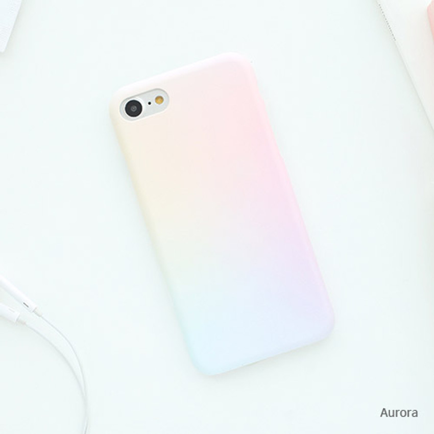 Aurora - Matte simple hard case for iPhone 7